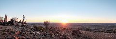 Broken Hill, NSW - Sunset Panorama