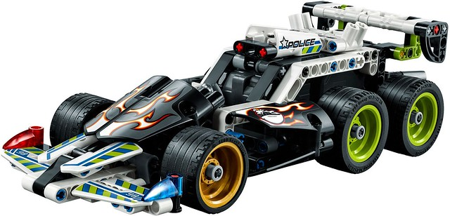 LEGO Technic 42046 + 42047