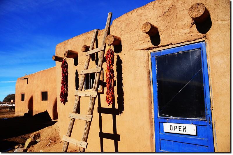 Taos Pueblo Adobe House 9