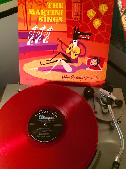 Martini Kings Palm Springs Serenade red vinyl