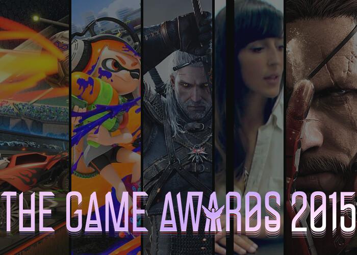Revelados os vencedores do The Game Awards 2015!