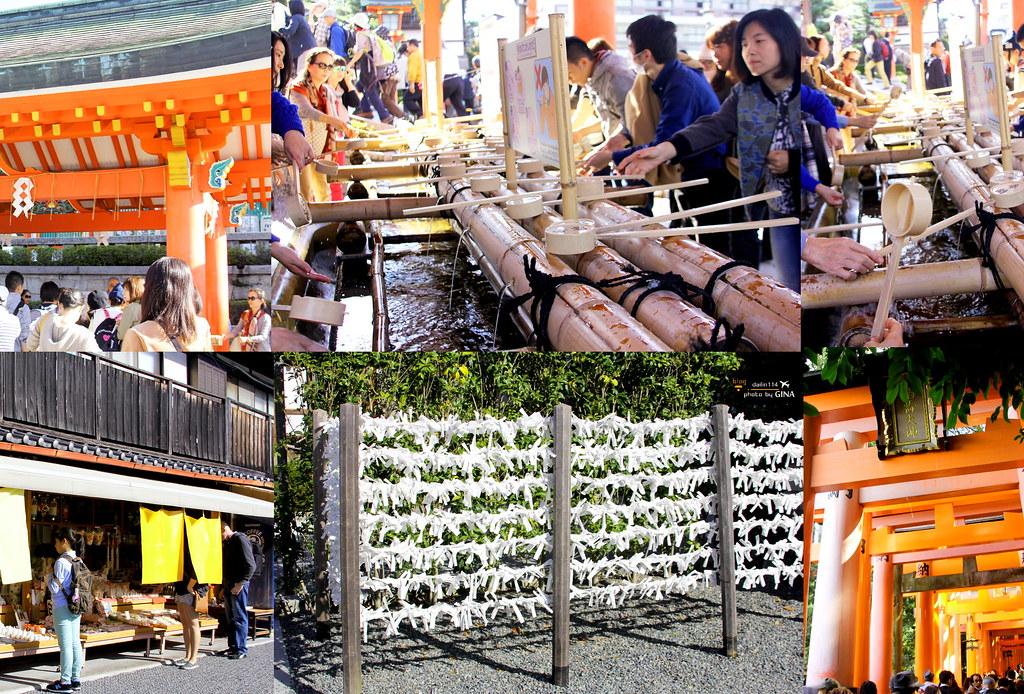 【京都市必去景點】伏見稻荷大社|千本鳥居|美國電影《藝妓回憶錄》拍攝場景之一 @GINA環球旅行生活