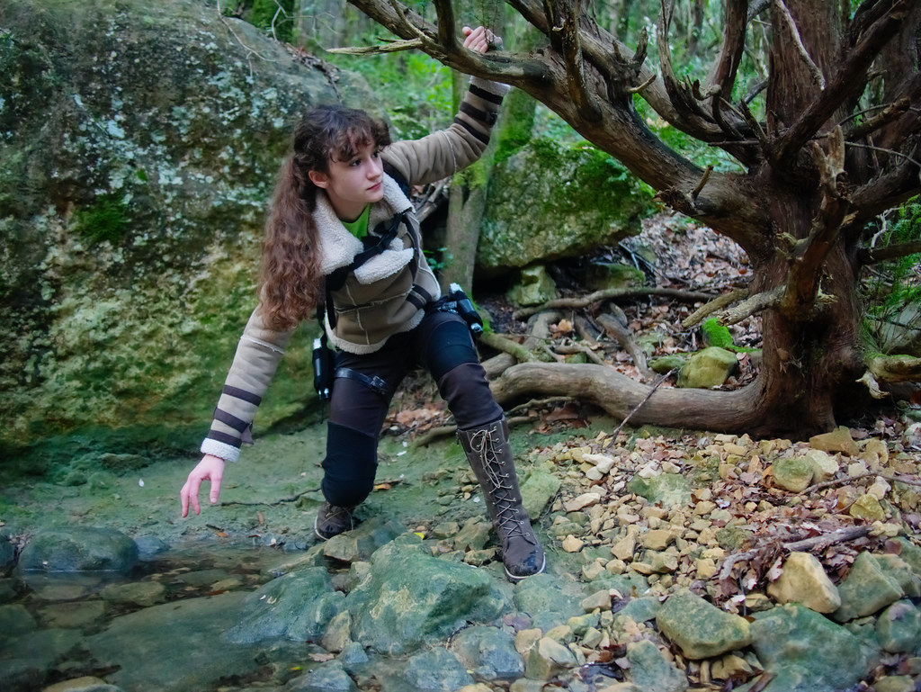 related image - Shooting Lara Croft - Sources de l'Huveaune - 2015-11-11- P1650799