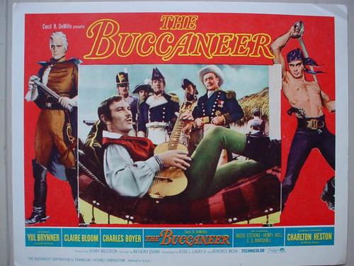 The Buccaneer - 1958 - lobbycard 2