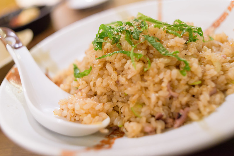 fried rice with salt-fermented squid