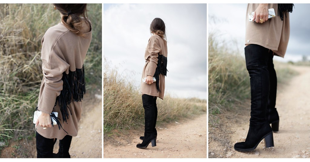 07_fringed_dress_and_long_boots_fashion_blogger_barcelona_theguestgirl