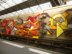 Graffs sur trains