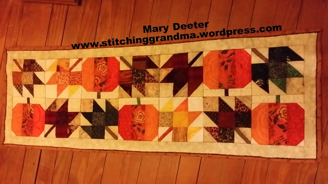 Autumn Jubilee Table Runner