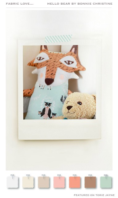 Hello Bear by Bonnie Christine
