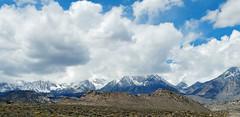 Mt Whitney Hiding, Sierra Nevada Range, CA 5-15