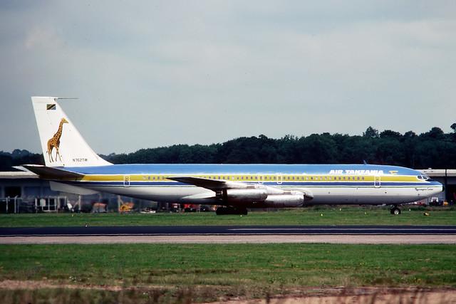 N762TW Boeing 707-331 Air Tanzania