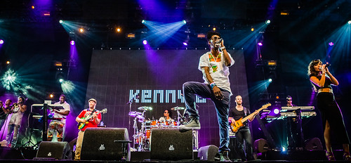 Lowlands 2015 mashup foto - Kenny B en Band live @ Lowlands '15