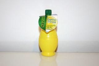 07 - Zutat Zitronensaft / Ingredient lemon juice