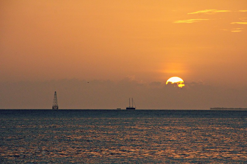 Sunset at Florida Keys