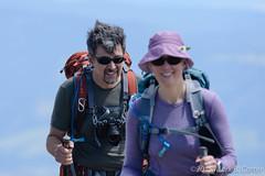 Summiting Wheeler Peak, NM