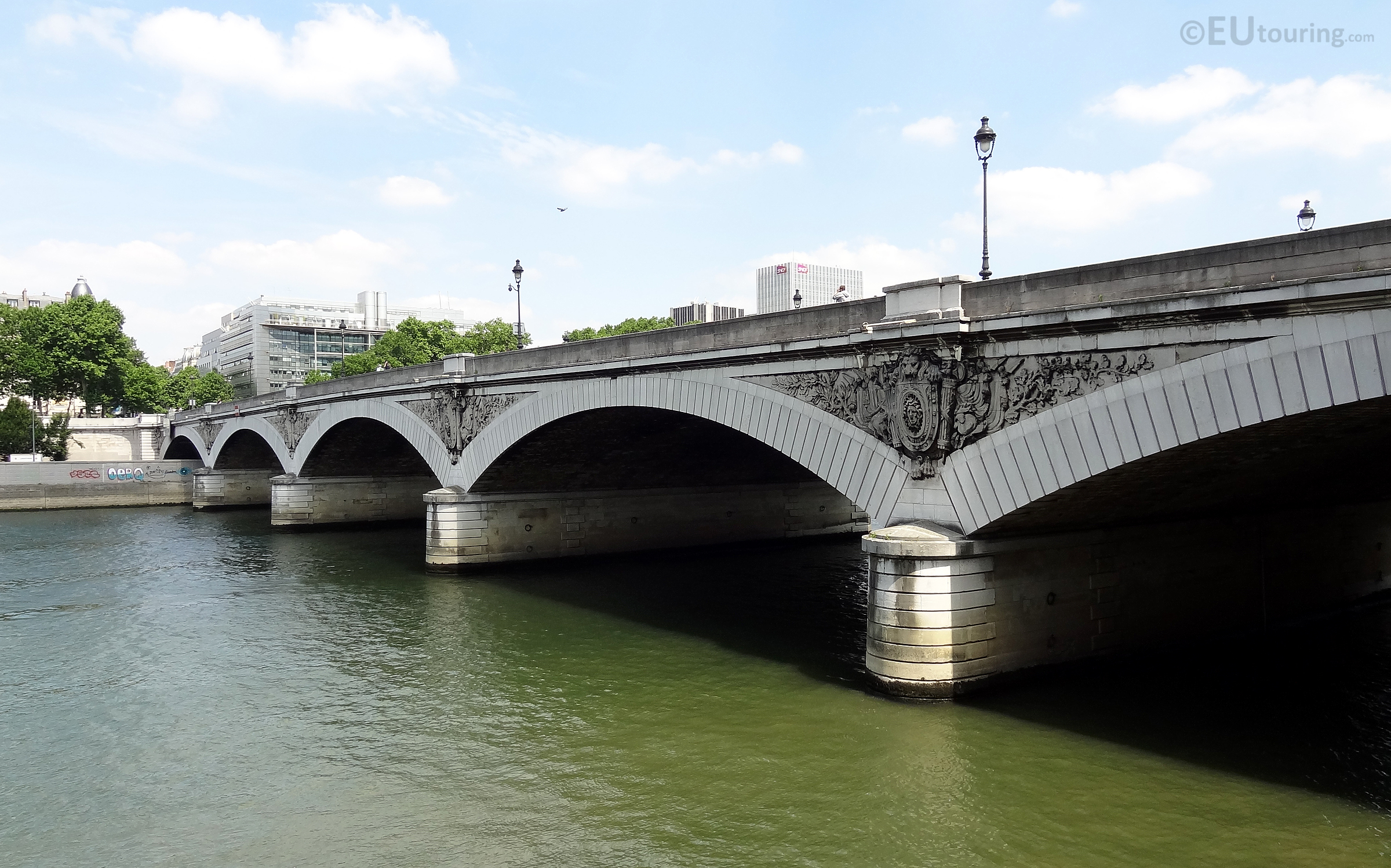 Arches of Pont d'Austerlitz