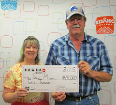 Steve Mitchell - $40,000 Powerball