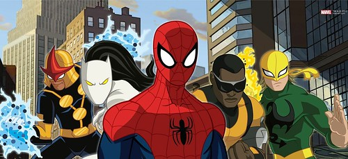 Ultimate Spider-man cartoon 1
