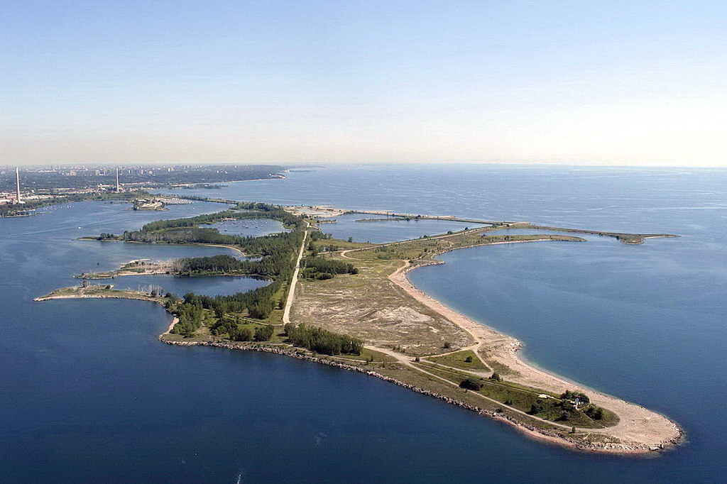Tommy Thompson Park (bird view)