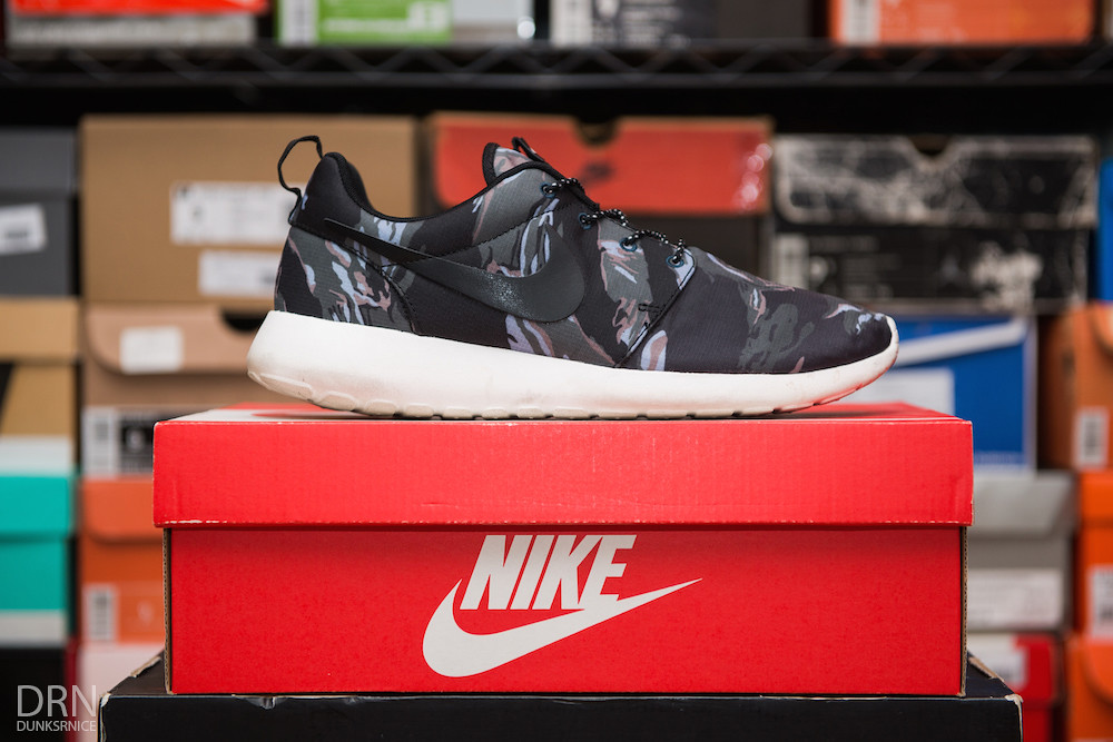 Black Tiger Camo Roshe Runs.