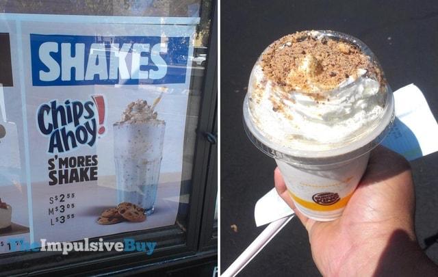 Burger King Chips Ahoy S'mores Shake