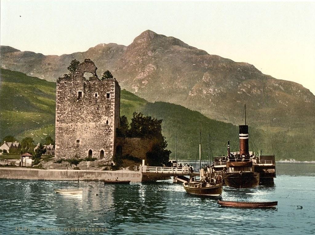 Carrick Castle, Lochgoil (i.e. Loch Goil), Scotland