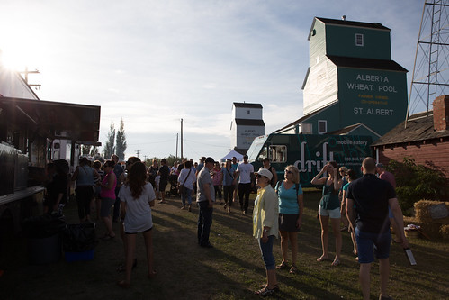 Food Trucks at St. Albert Grain Elevator Park