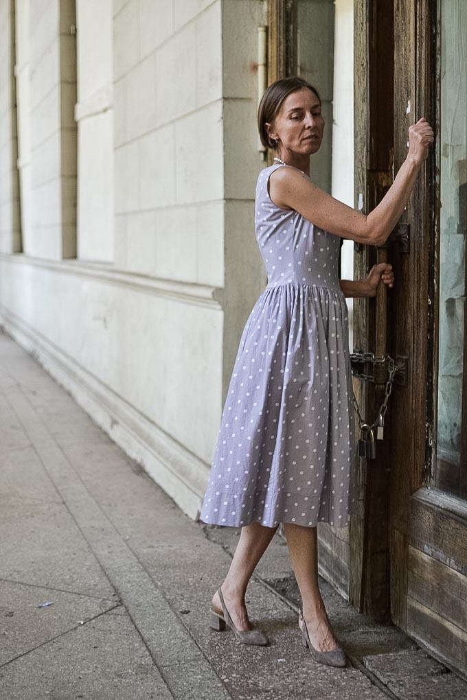 pastel polkadot dress 11