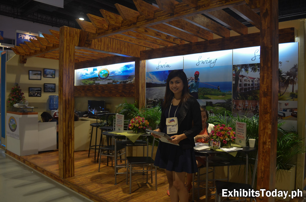 Fairways & Bluewater Newcoast Resort in Boracay Exhibit Booth