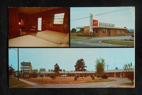 Holiday Motel Bamberg front