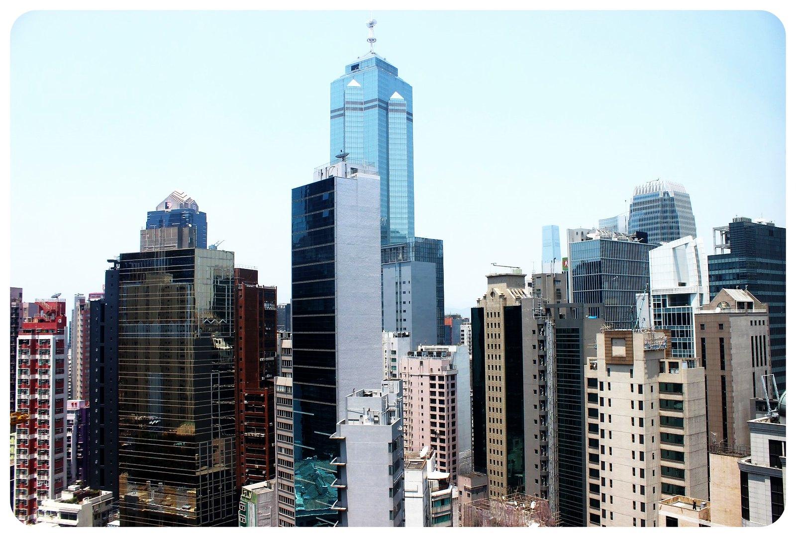 LKF hotel Hong Kong views