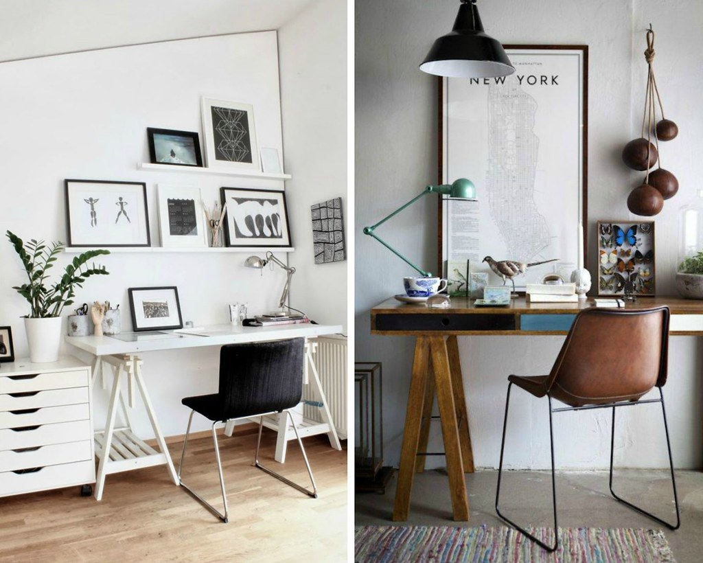 Pinterest Inspiration | Workspace| A Hint of Rose | In this post, I share with some of my