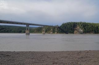 045 Brug over Yukon River