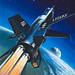 X-15 Rocket Plane. Artist: Wilf Hardy by Atomic Scout