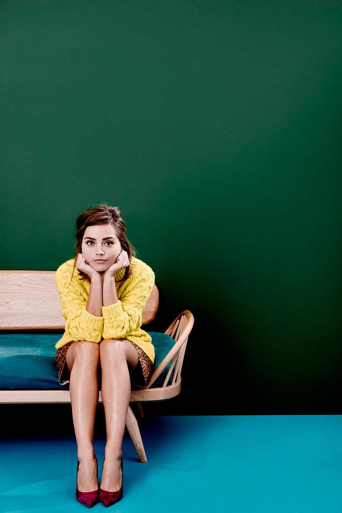 Дженна Коулман — Фотосессия для «Stylist» 2015 – 2