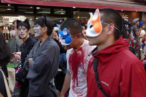 Cat's Halloween Parade in Kagurazaka 2015 09