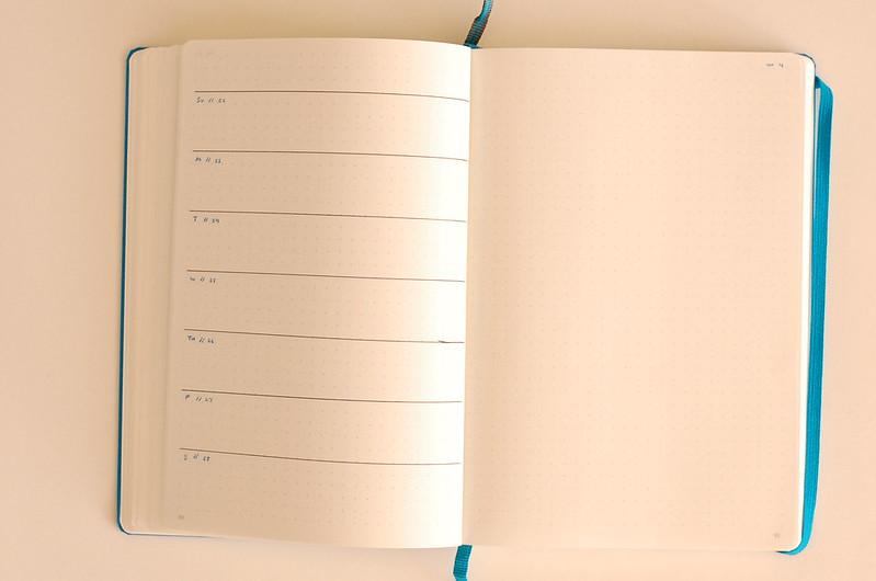 November personal weekly tasks week 4
