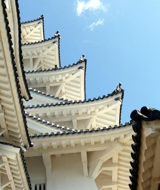 Himeji eaves