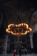 light in Hagia Sophia, Istanbul