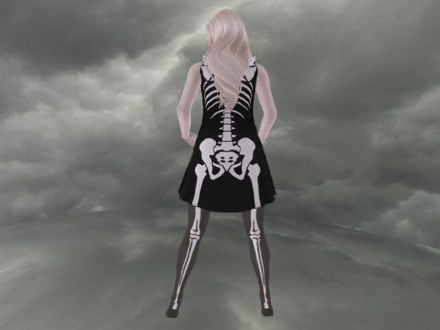 *GF* 2015 Halloween Gift Dress Set SKELETON