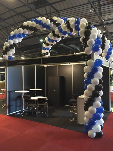 Ballonslinger Beurstand Schoevers  NCOI IJsselhallen Zwolle