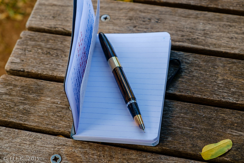 Sheaffer Triumph Valiant and Clairefontaine Roadbook