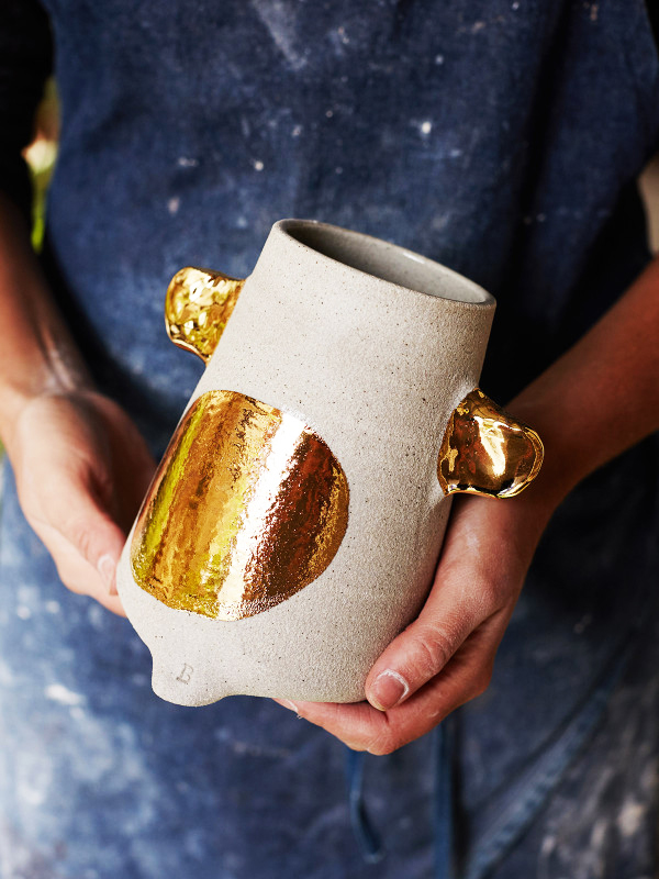 Ceramic Homeware with Gold Details