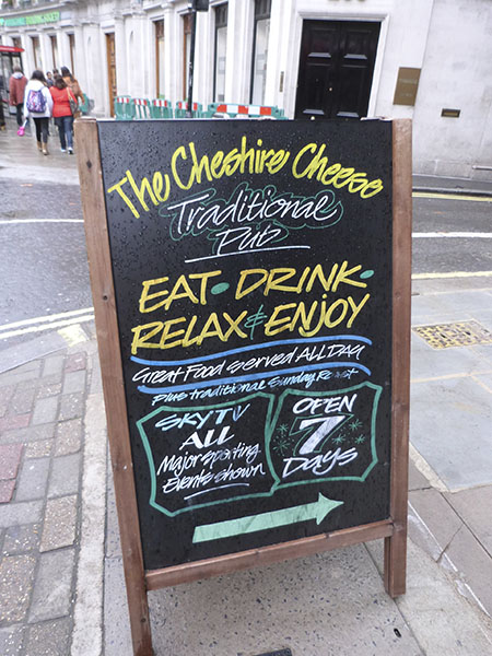 the cheshire cheese