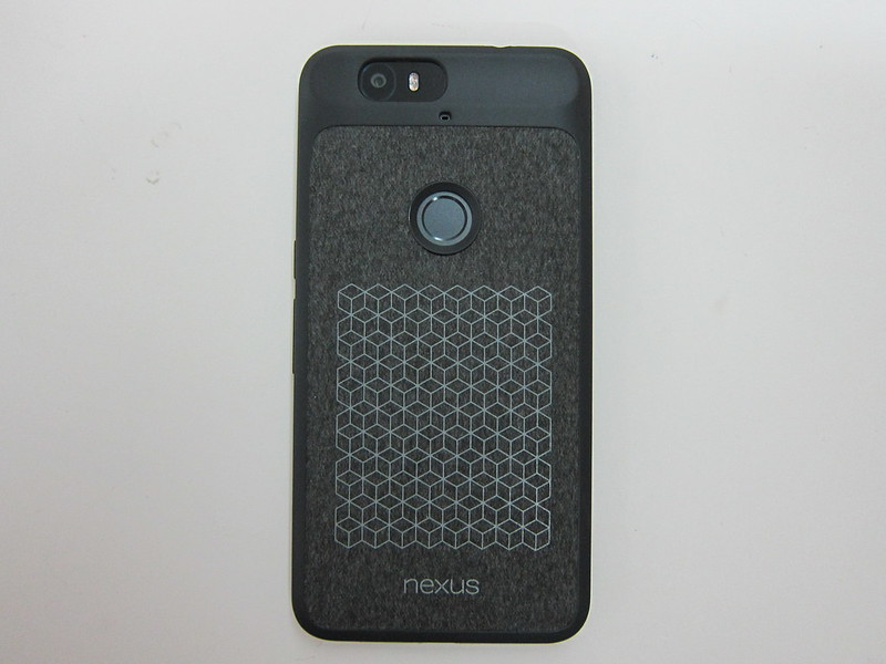 Nexus 6P Official Case - With Nexus 6P - Back