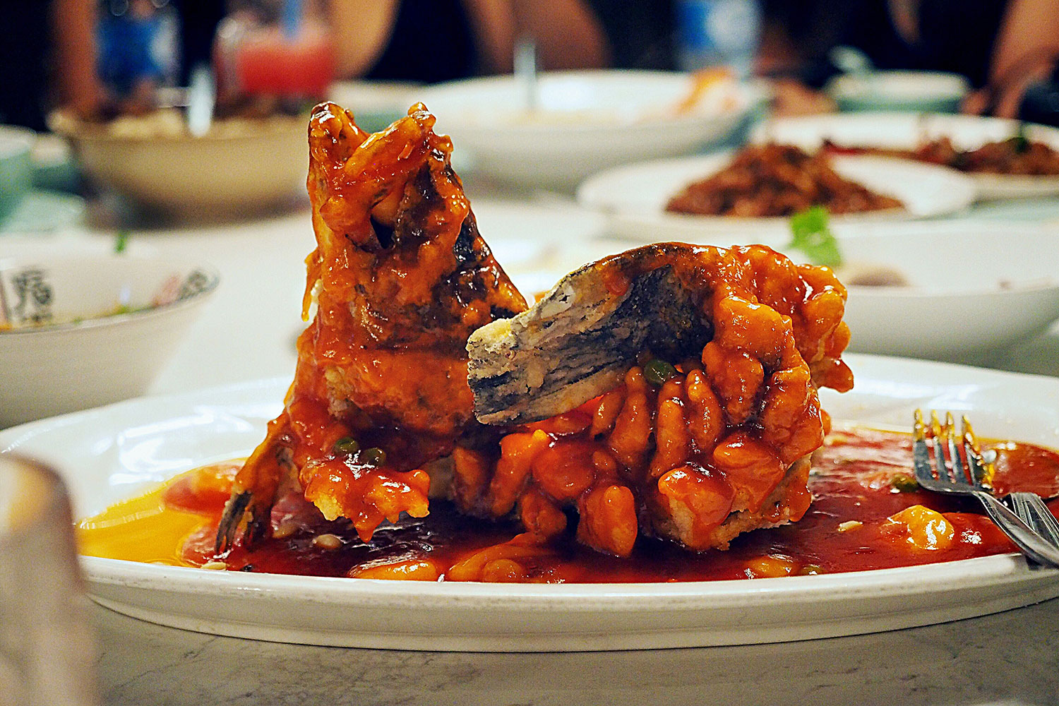 Barramundi in Sweet & Sour Sauce, Taste of Shanghai, World Square. Sydney Food Blog Review