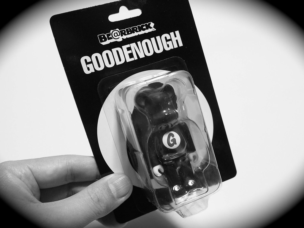 GOODENOUGH | BE@RBRICK GOODENOUGH 100%