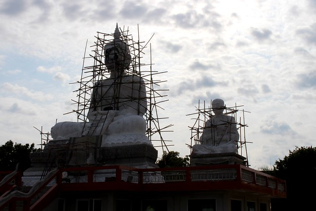 Boeddha in aanbouw