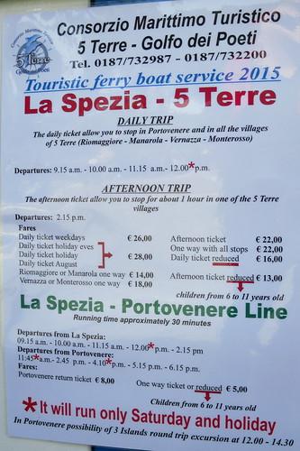 Biglietteria Consorzio Marittimo Turistico 5 Terre