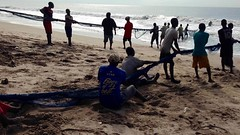 Seine fishing in Kokrobite Beach, Ghana. #JujuFilms